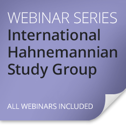 International Hahnemannian Study Group with André Saine, dean of the Canadian Academy of Homeopathy